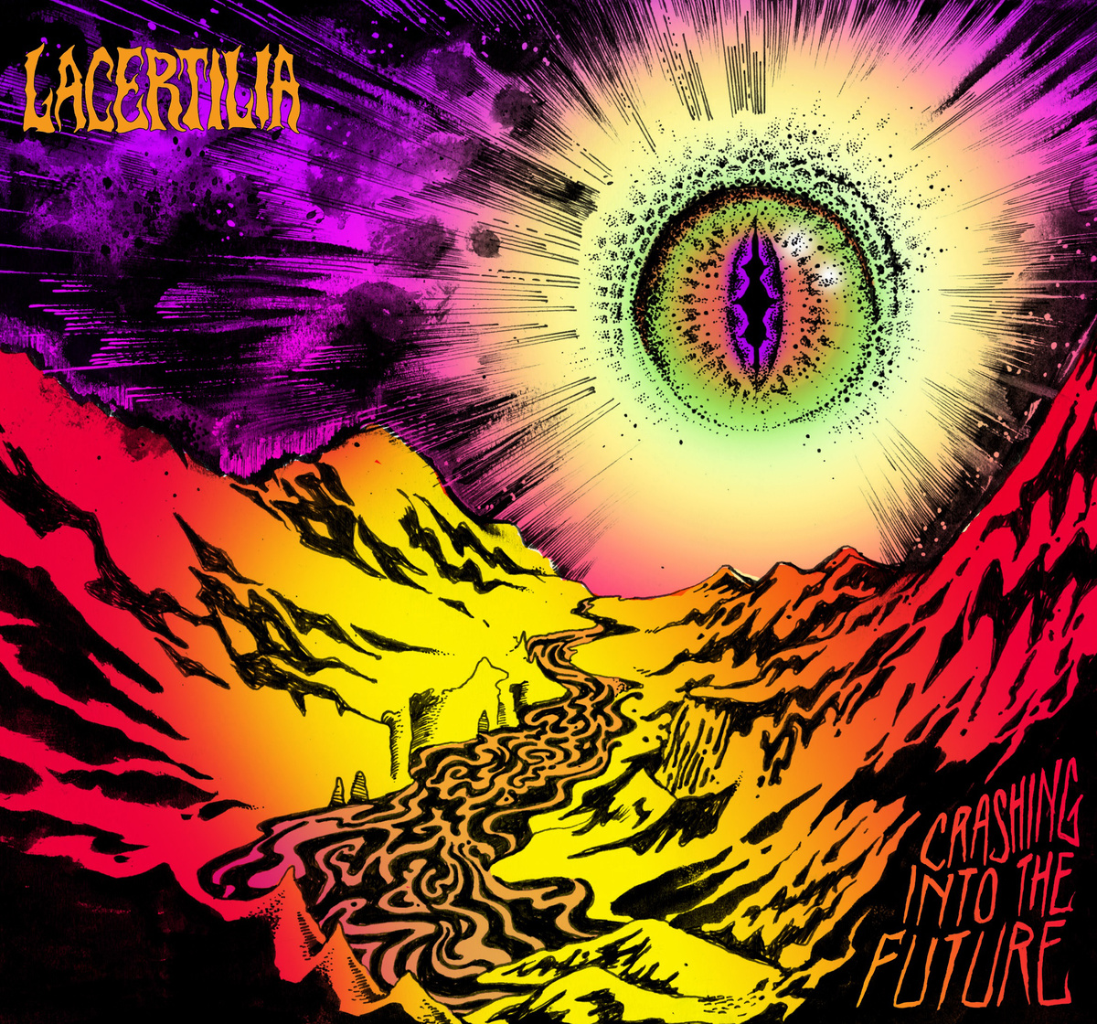 Lacertilia - Crashing Into The Future