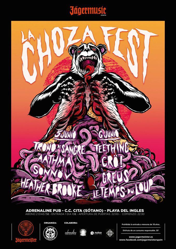 Cartel La Choza Fest 2015